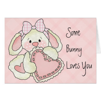 Cartão bonito do dia dos namorados para miúdos