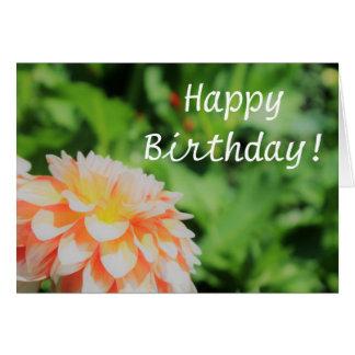 """Cartão bonito do feliz aniversario"""" da dália do"""