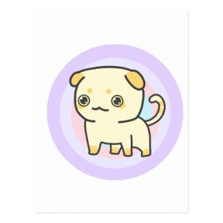 Cartão bonito do gatinho