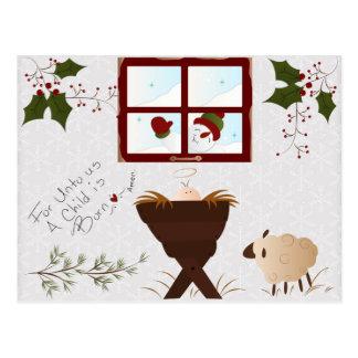 Cartão bonito do Natal