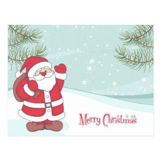 Cartão bonito dos desenhos animados do Natal