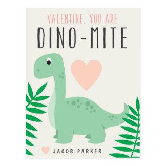 Cartão bonito dos namorados da sala de aula do