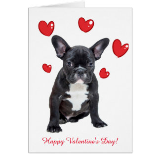 Cartão bonito dos namorados dos corações do