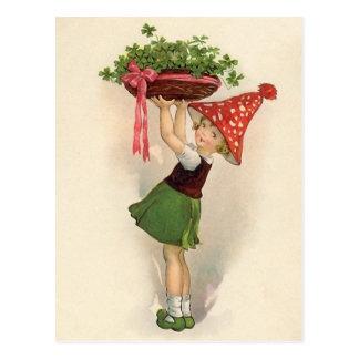 Cartão bonitos do dia de St Patrick