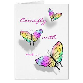 Cartão Borboleta