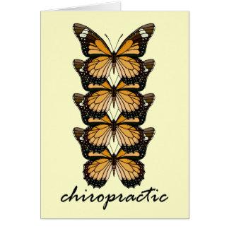 Cartão Borboletas da quiroterapia