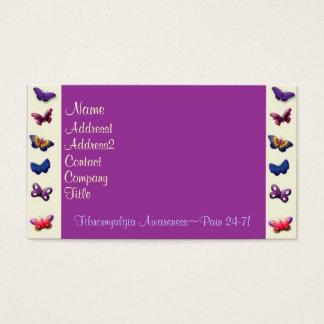 Cartão-Borboletas do negócio/perfil Cartão De Visitas