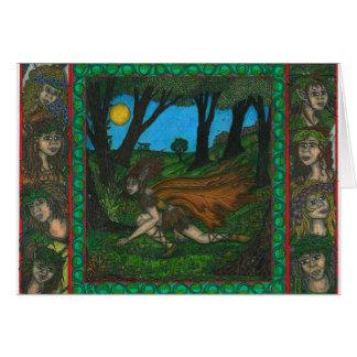 Cartão Borda da floresta