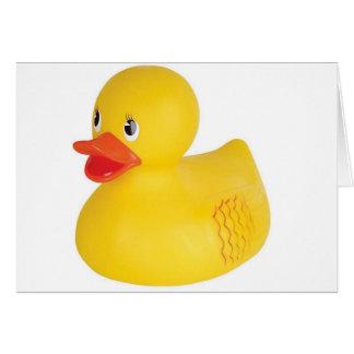 Cartão Borracha Ducky