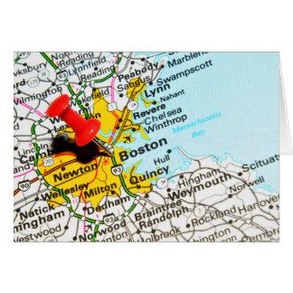 Cartão Boston, Massachusetts