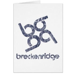 Cartão Breckenridge