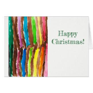 Cartão brilhante do Natal do feriado