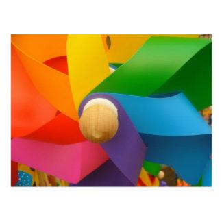 Cartão brilhante do Pinwheel