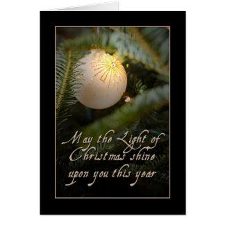 Cartão Brilho em você