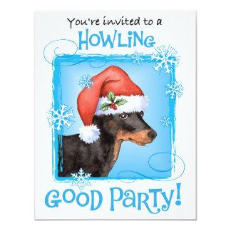 Cartão Brinquedo feliz Manchester Terrier de Howlidays
