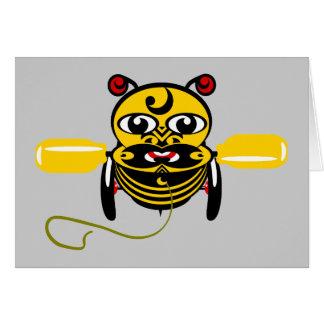 Cartão Brinquedo Kiwiana da abelha de Hei Tiki