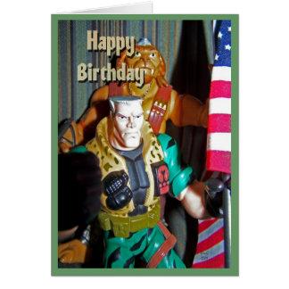 Cartão Brinquedos do feliz aniversario para meninos