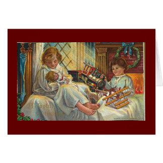 Cartão Brinquedos do Natal