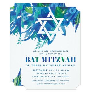 Cartão Brisa de Mitzvah do bastão