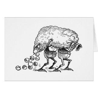 Cartão Brownies que perdem maçãs