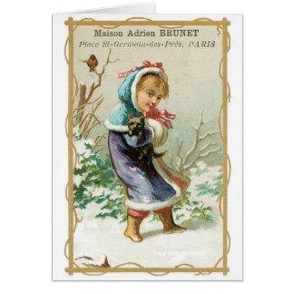 Cartão Brunet de Maison Adrien