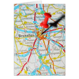 Cartão Bruxelas, Bruxelas, Bruxelas em Bélgica