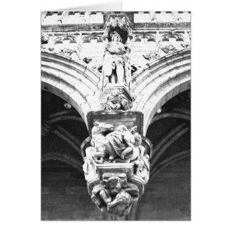Cartão Bruxelas ornamentado