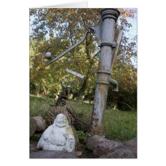 Cartão Buddha de sorriso