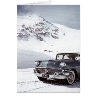 Cartão Buick e montanha de Colorado