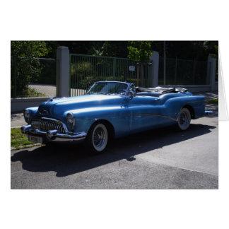 Cartão Buick Skylark 1953