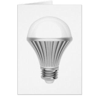 Cartão Bulbo do diodo emissor de luz