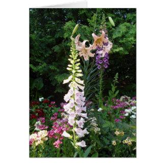 Cartão Bulbos na flor