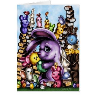 Cartão BunnyEaster1b