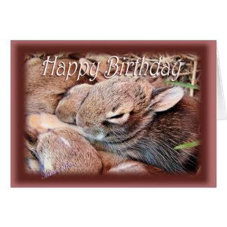 Cartão BunnyHBD-personalize