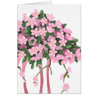 Cartão Buquê de Sakura