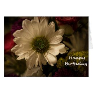 Cartão Buquê do aniversário