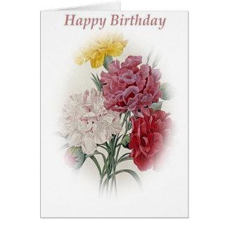 Cartão Buquê do feliz aniversario