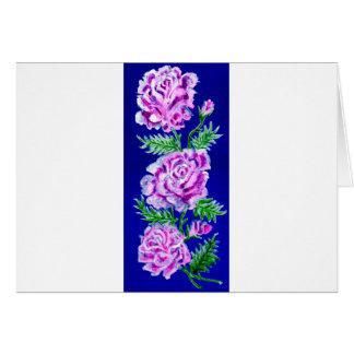 Cartão Buquê do WC dos rosas