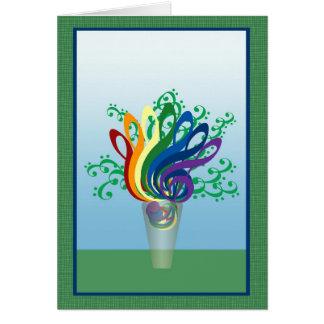 Cartão Buquê dos Clefs