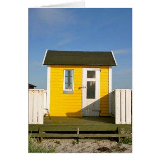Cartão Cabana da praia, Aero