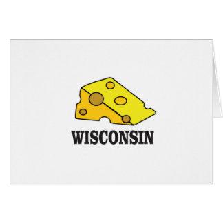 Cartão Cabeça do queijo de Wisconsin