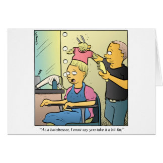 Cartão Cabeleireiro