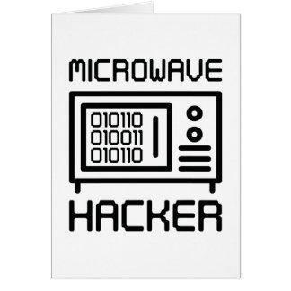 Cartão Cabouqueiro da microonda