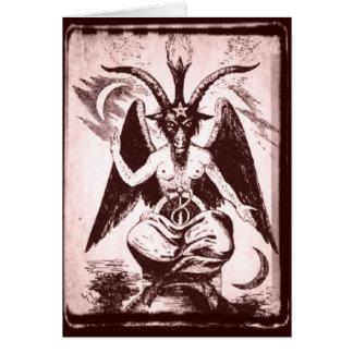 Cartão Cabra de Mendes (estilo antigo)