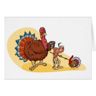 Cartão Caça de Turquia