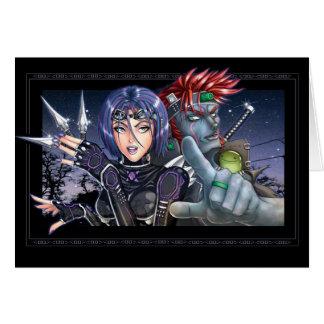 Cartão Caçadores de prémios de Manga