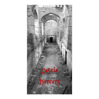 Cartão Caçadores do castelo