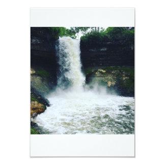Cartão Cachoeira bonita em Minnepolis