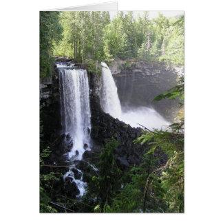Cartão Cachoeira dobro