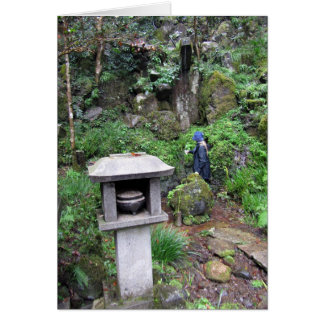 Cartão Cachoeira sagrado